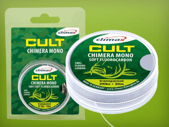 CULT Chimera Mono Soft Fluorocarbon Karpfen Vorfachschnur speziell für D-Rigs