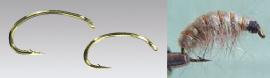 Climax Flyfishing Bachflohkrebshaken, Haken und Bachflohkrebs