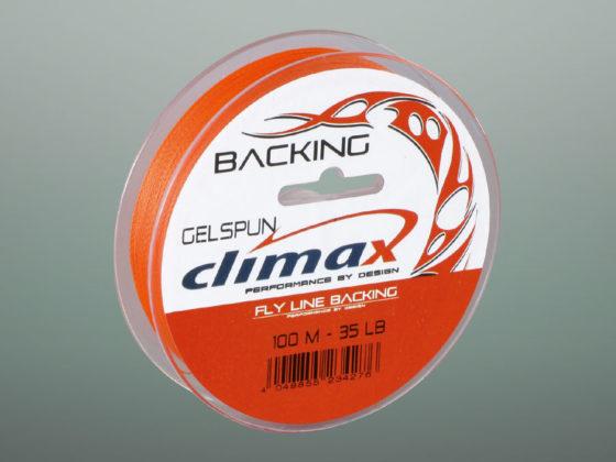 Climax Flyfishing Gelspun Backing, Verpackung