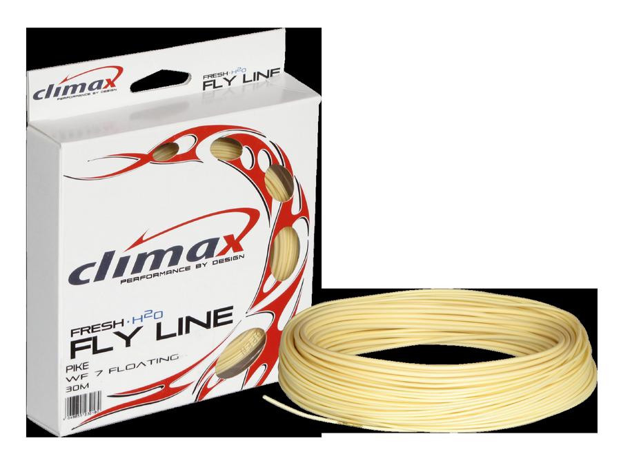 Climax Flyfishing Hecht Pike Line, Verpackung und Schnur