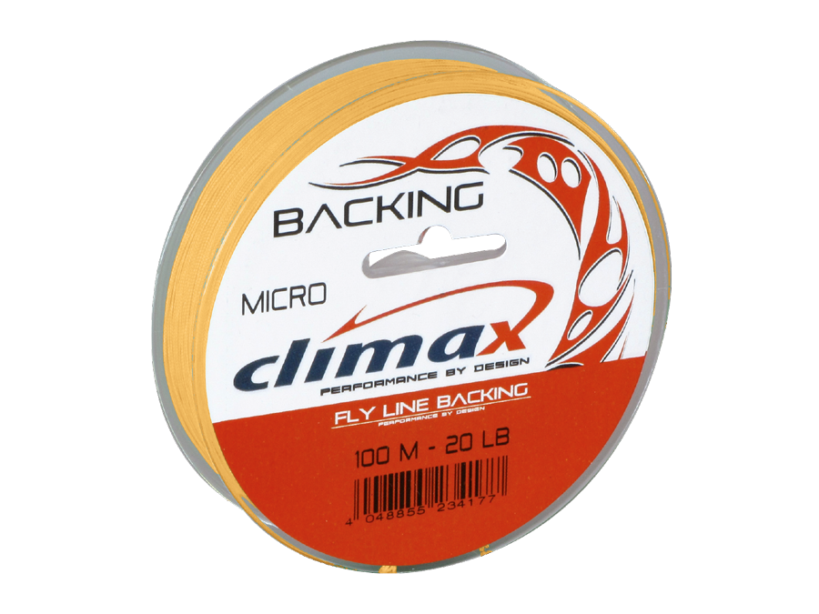 Climax Flyfishing Micro Backing, Verpackung