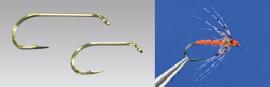 Climax Flyfishing Nassfliegenhaken, Haken und Nassfliege