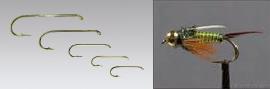 Climax Flyfishing Nymphenhaken, Haken und Nymphe