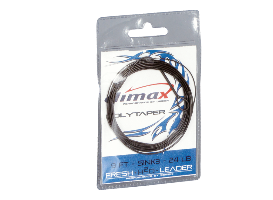 Climax Flyfishing Polytaper, sinkend, Verpackung