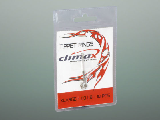 Climax Flyfishing Tippet Ringe, Verpackung