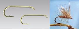 Climax Flyfishing Trockenfliegenhaken, Haken und Trockenfliege